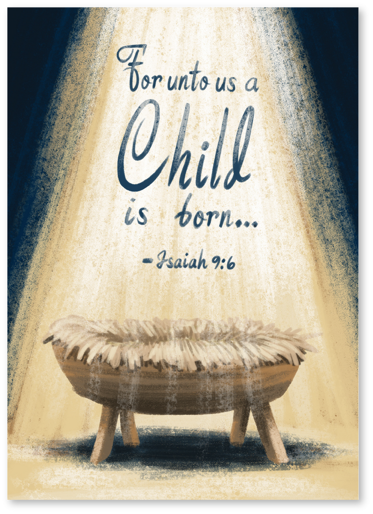 Isaiah 9:6 Christmas Card - Order Christmas Cards Today | Say More Cards