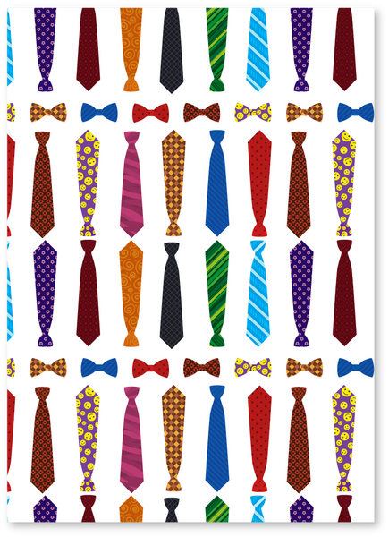 Tie-riffic Father's Day Card