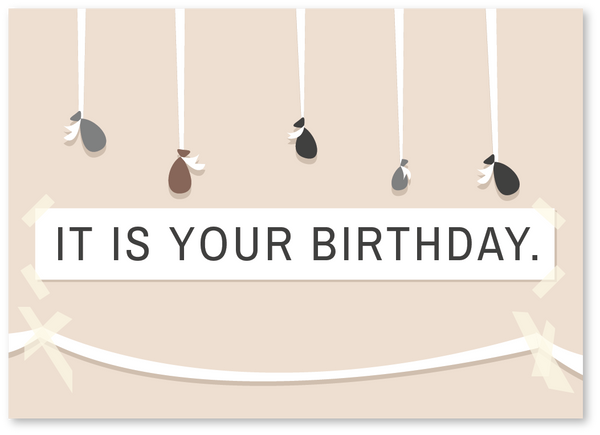 IT IS YOUR BIRTHDAY. The Office Birthday Card