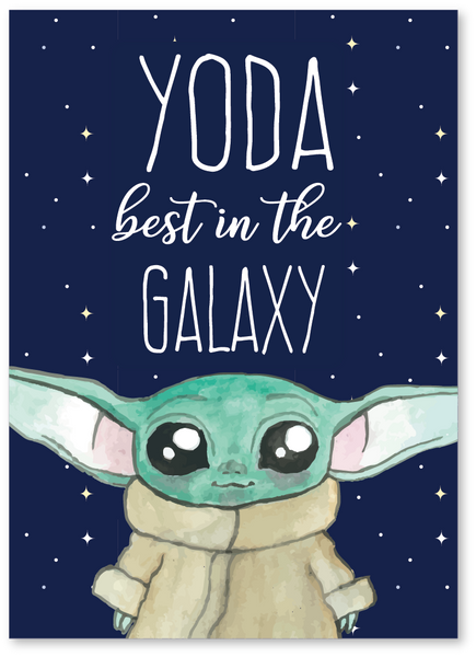 Yoda Best in the Galaxy