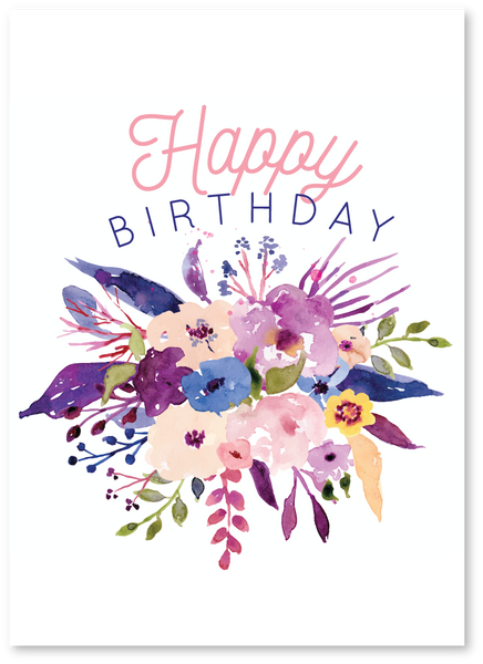 Birthday Boquet Card