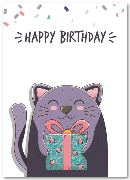 Purrrrrrr-fect Birthday Card