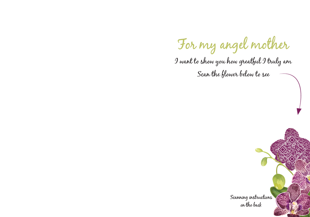 Angel Mother's Day Card