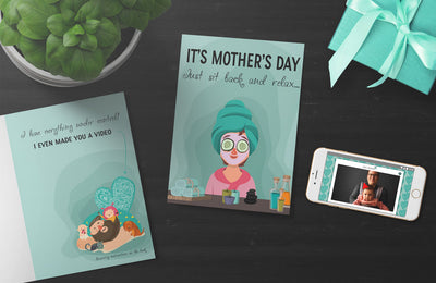 Relax Mother's Day Card