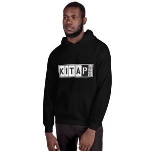 Black Kita P Block Pull Over Hoodie
