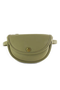 Small Convertible Handbag Sage