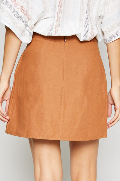 Button Front Sienna Skirt