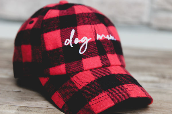 Dog Mom Hat Lumberjack