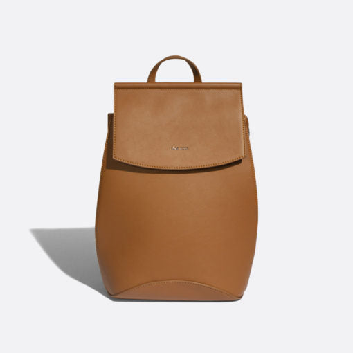 Kim Convertible Backpack Cognac