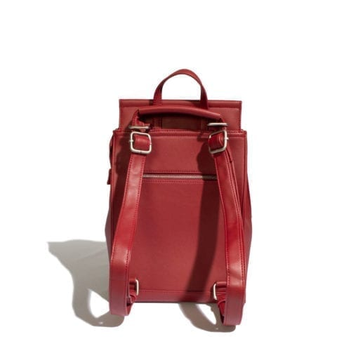 Kim Convertible Backpack Red