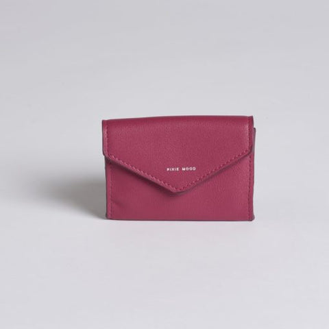 Carol Card Wallet Red Bean