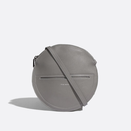Phoebe Circle Crossbody Bag Grey