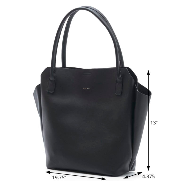 Rachel Tote with Bonus Bag Black