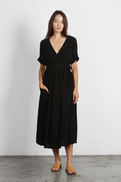 The Lenora Black Dress