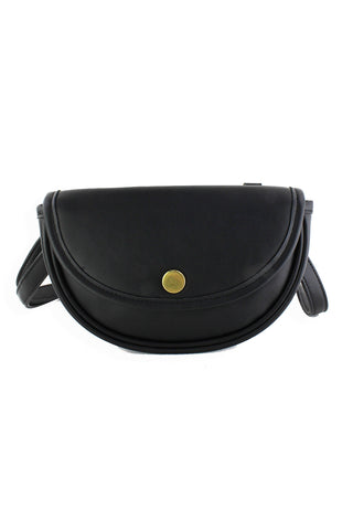 Small Convertible Handbag Black