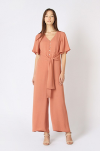 Veronica Jumpsuit Salmon