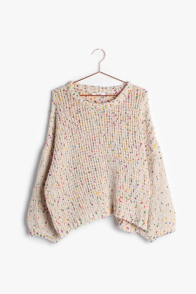 Natural Confetti Sweater