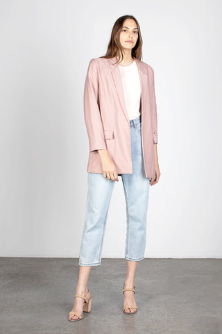 Over Sized Blush Blazer