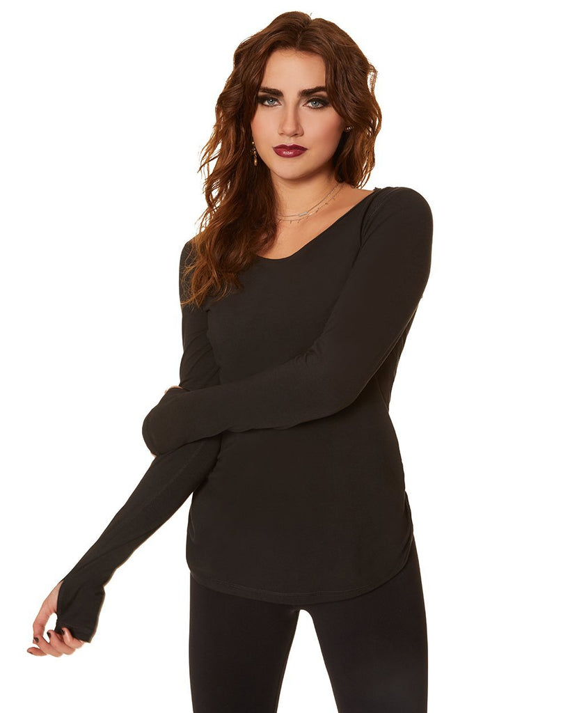 Basic Long Sleeve - Nancy Rose Performance