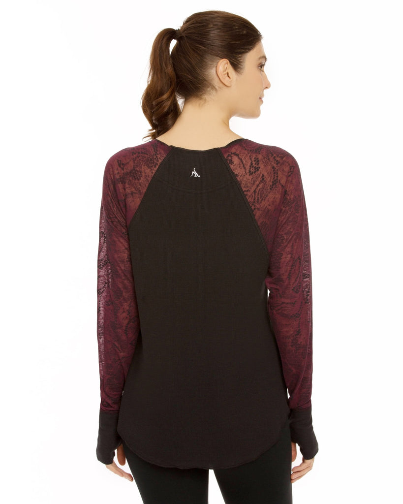 Bliss Long Sleeve Tee - Nancy Rose Performance