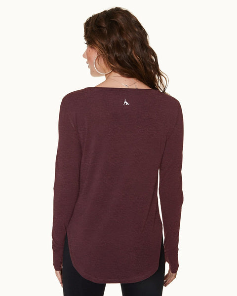 Boyfriend Long Sleeve Tee - Nancy Rose Performance