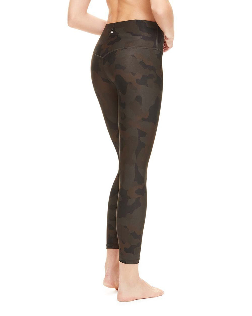 Camouflage 7/8th MicroLux Pant - High Waist - Nancy Rose Performance