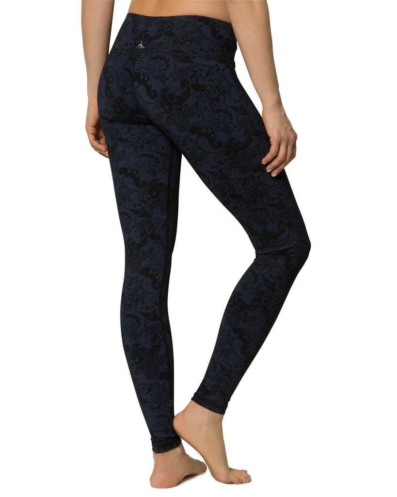 Feather Print Plank Pant - Nancy Rose Performance