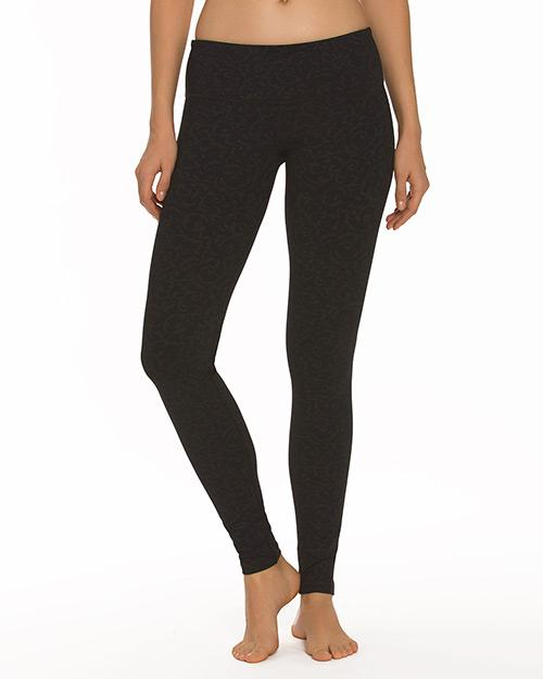 Ivy Print Plank Pant - Nancy Rose Performance