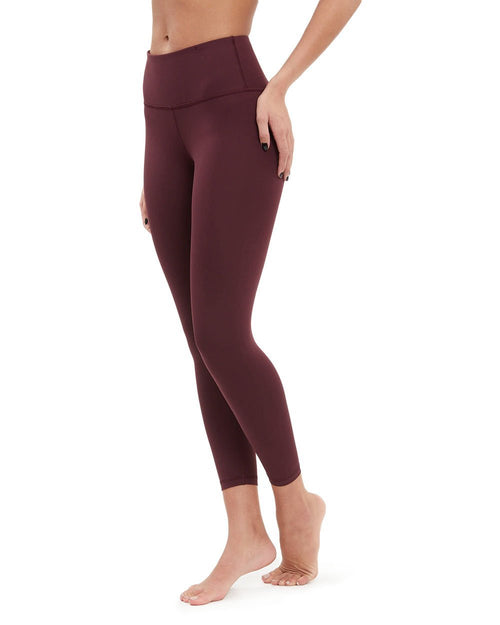 Plank 7/8th Pant - High Waist - Clean Waistband - Nancy Rose Performance