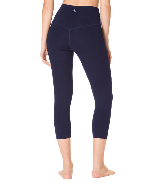 Plank Crop - Clean Waistband - High Waist - Nancy Rose Performance