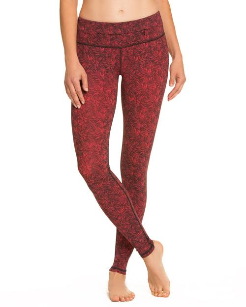 Rose Print Plank Pant - Nancy Rose Performance