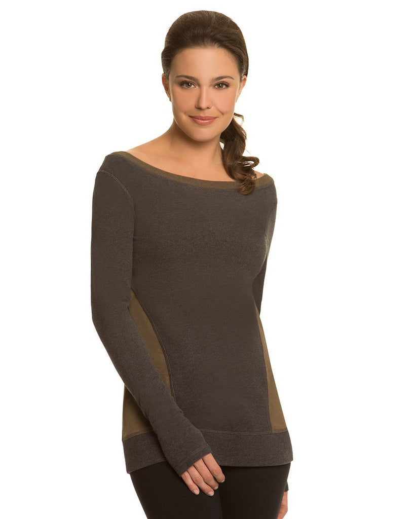 Side Panel Sweatshirt - Nancy Rose Performance