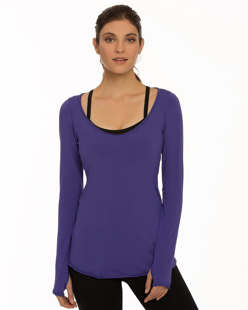 Tie Back Long Sleeve - Nancy Rose Performance