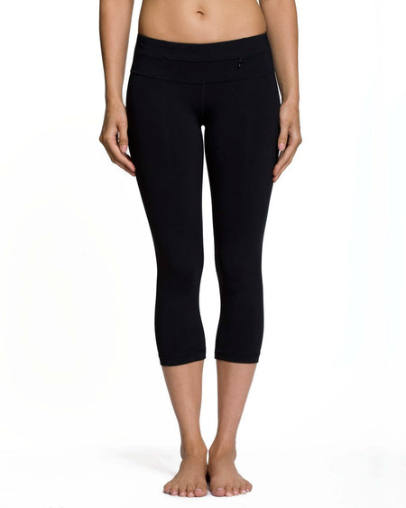 Plank Crop - High Waist - Clean Waistband