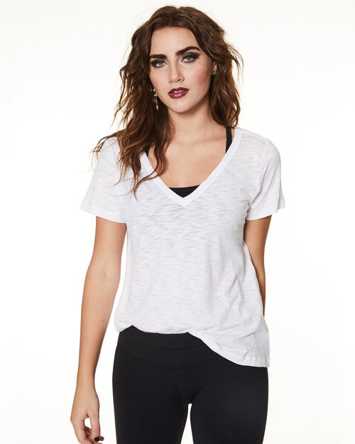 V Neck Tee - Nancy Rose Performance