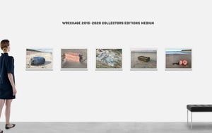 WRECKAGE No. 115 – Kunstfotografi – Indrammet Gallery Edition – (Str. S-XL)