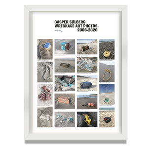 "Original poster – ""WRECKAGE ART PHOTOS 2006–2020"" – Limited Edition – (Str. M & XL)"