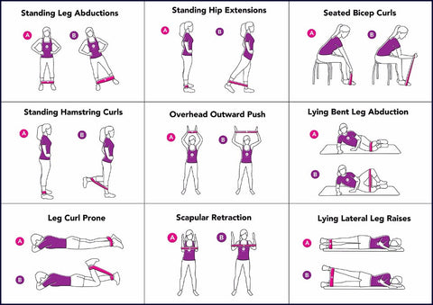 Resistance band exercises workout pdf