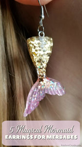 5 Magical Mermaid Scale Earrings for Merbabes