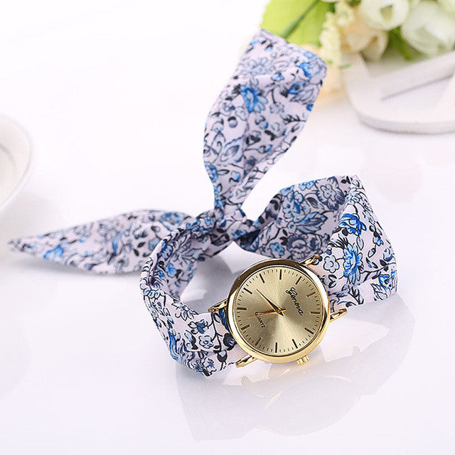 Faerie Floral Wrist Wrap Watch