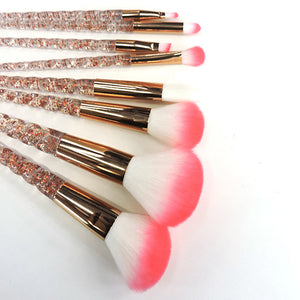 Sparkly Crystal Unicorn Horn Brushes