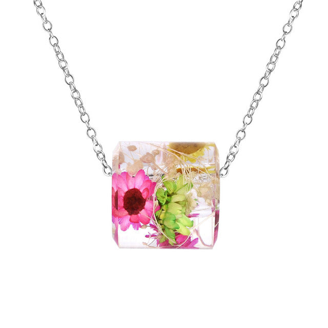Faerie Flower Choker Necklace