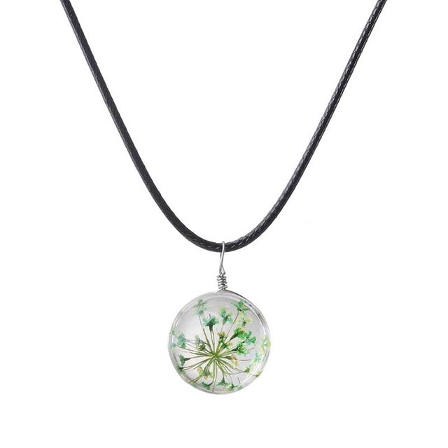 Faerie Flower Burst Necklace