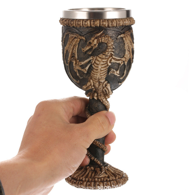 Dragon Skull Magical Chalice