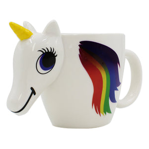 Horse to Unicorn Color Changing Magical Mug