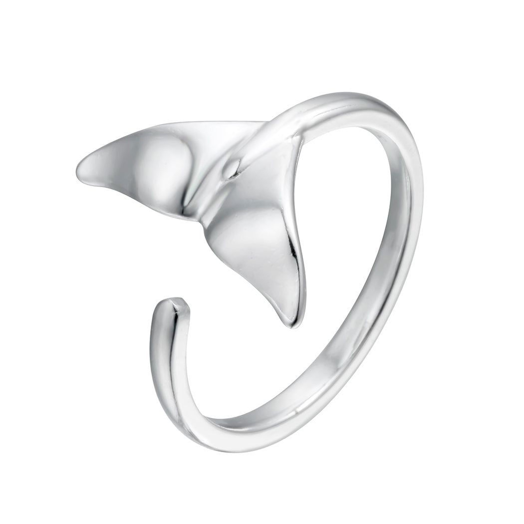 Silver Mermaid Tail Ring
