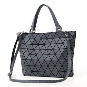 Geometric Luminous Tote Bag