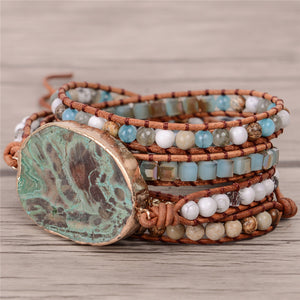 Boho Mermaid Beachcomber Bracelet