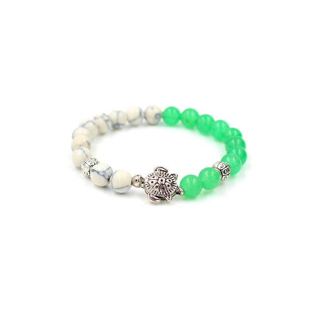 Merfriends Natural Stones Sea Turtle Bracelet