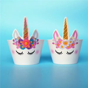 Unicorn Cupcake Wrappers for a Magical Party